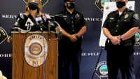 NJ police arrest suspects they say shot up home of cops with new baby