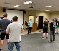 Ore. city paramedics and EMTs complete mandated self-defense classes