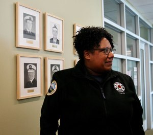 Portland Fire Chief Sara Boone said in a statement that a firefighter who used racial slurs against a Black hotel clerk will be suspended for 6 months and required to complete diversity training. (Photo/Samantha Swindler, The Oregonian, OregonLive)