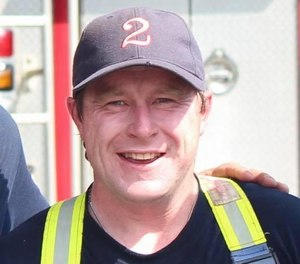 Quincy firefighter Jonathan O'Driscoll died suddenly on Wednesday, Oct. 9, according to his obituary written by Keohane Funeral Home, which is handling his funeral arrangements. (Photo/IAFF Local 792)