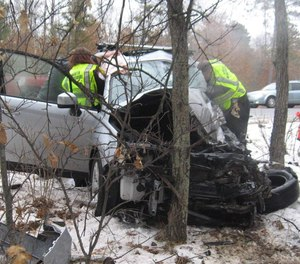 Henry Zietlow, 18, died in this crash on a rural road in Wisconsin in 2019. Transportation experts say simple engineering changes could make a difference in improving rural road safety.