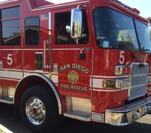 The city of San Diego will purchase $58.5 million in new vehicles to upgrade its fleet, including 16 fire engines and nine ladder trucks. (Photo/The San Diego Union-Tribune)