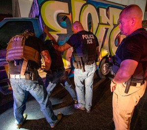 Federal immigration officials confirmed Friday that border agents and officers, including those in tactical units, will be deployed in Los Angeles and other so-called sanctuary cities to assist in the arrests of immigrants in the country illegally. (Irfan Khan/Los Angeles Times/TNS)
