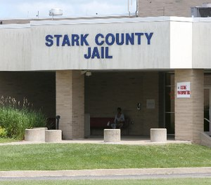The Stark County Jail building is shown in Canton in this file photo.