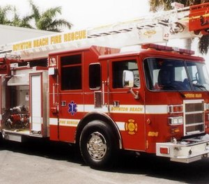 The union representing firefighters in Boynton Beach, Fla., has proposed a mental health plan that would make a doctor available to help firefighters struggling with mental illness and trauma. (Photo/The Palm Beach Post, File)