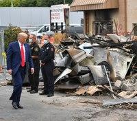 Trump backs LE on Kenosha visit, says safety is key