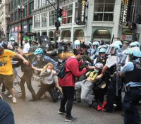 Chicago PD denies accusations of 'kettling' tactics at protests