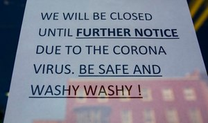 Businesses across the country have gotten creative with their closure signs. Image: lehighvalleylive.com/Saed Hindash via TNS