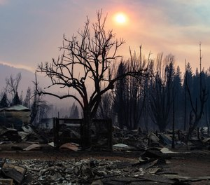 The program relies on satellite and drone data from a variety of sources, including the military, to provide on-the-ground fire officials with a holistic and almost real-time view of fires. It can be used to identify a fire spark in a remote region or track a fire in action, aiding with evacuations and firefighting.