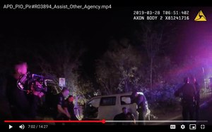 Body cam footage captures the death of Javier Ambler, a black man who died during a 2019 traffic stop in Austin.