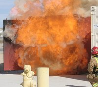 Preventing backdraft through vertical ventilation