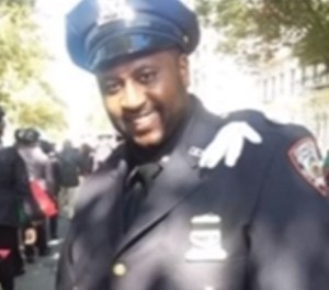 Officer Elvester McKoy leaves behind his wife and 6-year-old son. (Courtesy photo)