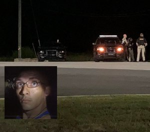 Dalton Potter, 29, was captured after allegedly shooting a Georgia deputy during a traffic stop September 7, 2020. (Georgia Bureau of Investigation/Eryn Cooper)