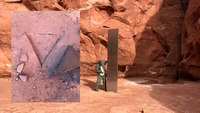 Mysterious Utah desert monolith vanishes overnight
