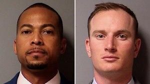 Former Williamson County Sheriff's Deputies James Johnson (left) and Zachary Camden.