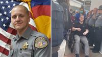 'I got lucky': Colo. deputy shot in ambush goes home