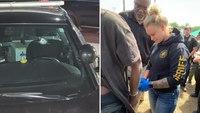 'She started it, she finished it': Deputy shot at by fugitive makes the arrest after weeklong manhunt