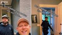Cops wake to find 'drunk dude' asleep in theirAirbnb