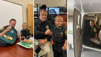 Fla. boy battling cancer becomes honorary deputy for a day