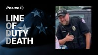 Ohio officer killed in 3-car crash on his way to a call