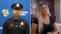 Widow of Mass. cop who drowned in rescue attempt starts foundation to buy police flotation devices