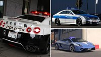 These are the fastest police cars around the world