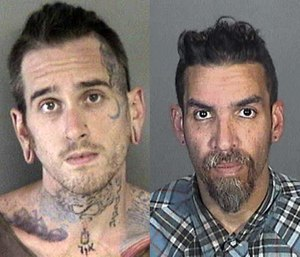 Derick Almena and Max Harris pleaded not guilty to the 36 felony counts; the jury trial is set for July 16.