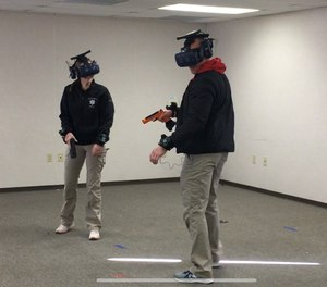 The Sacramento Police Department is using virtual reality technology for critical decision-making, judgment training and de-escalation training.