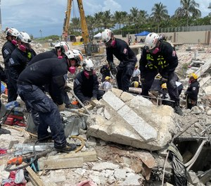 TheVirginia Beach-based urban search and rescue team spent nearly two weeks assisting with operations at the site of the tower collapse.