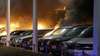 Ferguson: Overnight protests result in arrests, fires, injuries