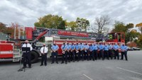Pa. department receives $1.4M ladder truck