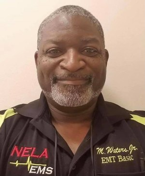 Louisiana EMT-police officer Marshall Waters, 49, died after being shot in the line of duty. (Photo/Northeast Louisiana Ambulance Service Facebook)