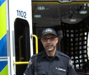 Paramedic Mahmoud Ghannam (Image Essex-Windsor EMS)