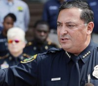 Houston police chief blunt and emotional during Harvey