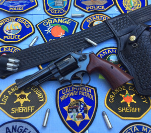 American police officers were armed with double-action revolvers for almost 100 years.