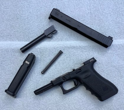 Maintaining your Glock pistol
