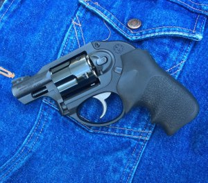 The Ruger LCR is ready for police duty, but is equally at home as an off-duty gun. (Photo/Mike Wood)