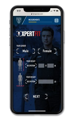 XpertFit is a touchless, first-to-market innovation for public safety. (Courtesy photo)