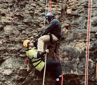 Rope rescue: Mid-height rescues, 'FD style'
