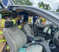 Deep side-impact extrication: 2 options for quick access and extrication