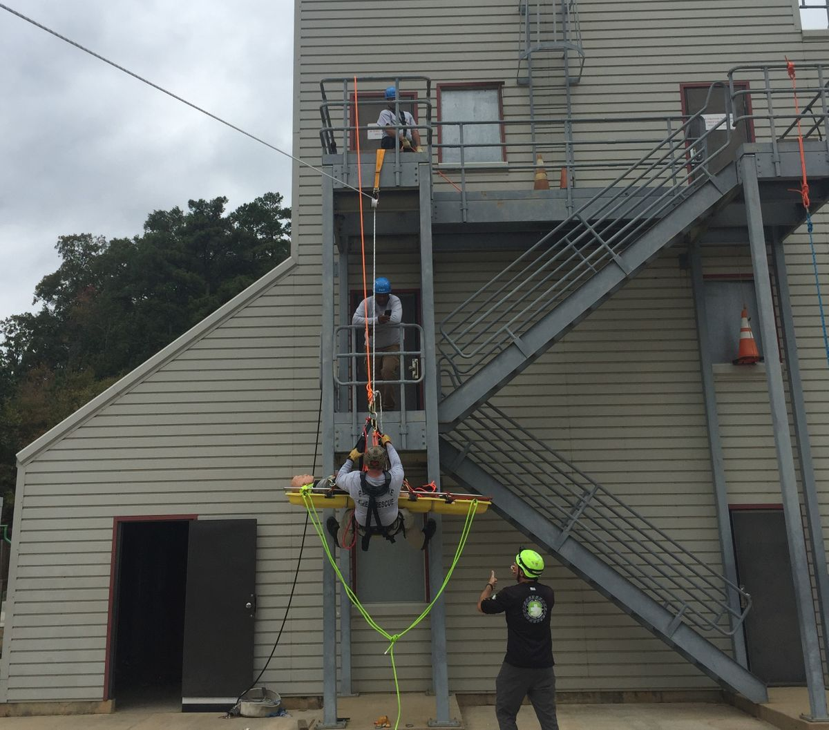 Rope Rescue Levels I and II Technical Rescue