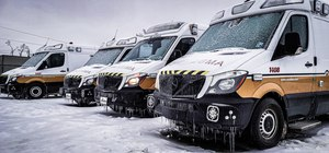 Two Acadian Ambulance EMS providers in Texas were awarded for save five people after witnessing crash during a snowstorm.