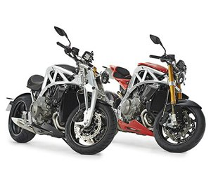 The bike's design is a combination of traditional bike design values and current superbike trends.