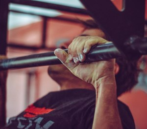 The pull up is one of the best upper body exercises you can do to build grip strength and the adductor muscle groups.