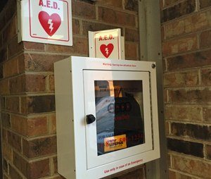 The AHA continues to stress the importance of placing AEDs where people are most likely to need them.