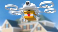 Drone outpaces ambulance with AED delivery