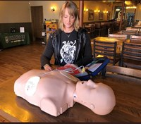 Volunteer rural EMS service saved ER nurse with CPR device she helped fund