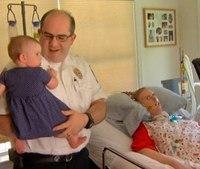 Firefighter battling ALS challenges Jimmy Fallon