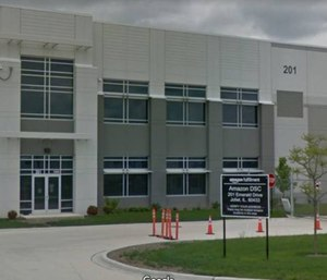 A lawsuit against Amazon claims workers waited about 25 minutes before calling 911 after  workerThomas Becker fell ill. (Photo/Google Maps)