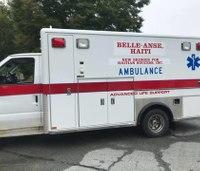 RI city donates ambulance, gear to Haitian community